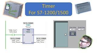 TIA Portal: How to use Timers (TON, TOF, TP, TONR) screenshot 4