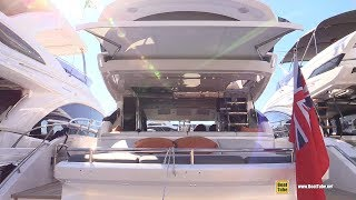 2019 Princess S 65 Luxury Yacht - Deck and Interior Walkaround - 2018 Cannes Yachting Festival