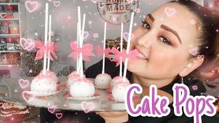 Cake Pops ❤ Red Velvet 