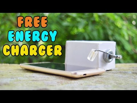 How to Make a Hand Powered USB Mobile Charger - Portable USB