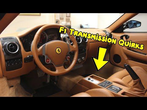 How to park a Ferrari F430 with the F1 transmission