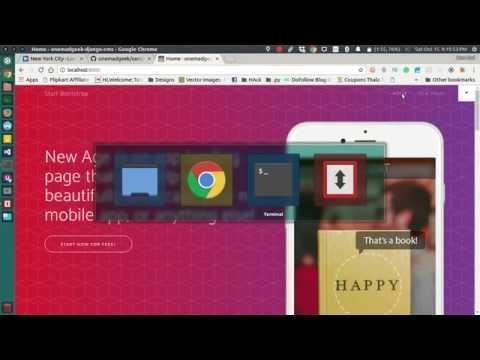 Django-Cms Sample Webapp Github Project - Python