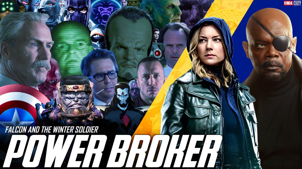 The Secret Identity of The Power Broker & Sharon Carter's New Team in Falcon & The Winter Soldier