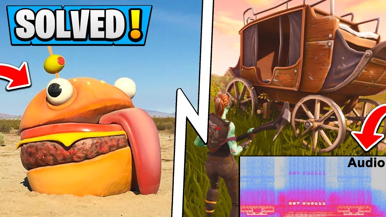 *ALL* Fortnite Solved Season 5 LEAKS! | IRL Audio Message, Durr Burger, Locations!