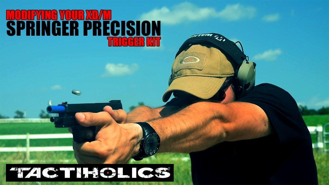 Springer Precision Trigger Kit   Modifying Your Springfield XD/m -  Tactiholics™