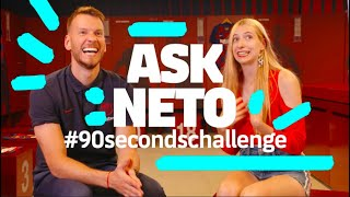HOW MANY QUESTIONS CAN HE ANSWER? | Neto #90secondschallenge