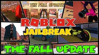 ROBLOX NEW JAILBREAK UPDATE IS OUT! 🍁 - Jailbreak, Phantom Forces! - COME JOIN THE FUN! - #233