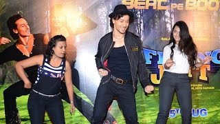 Video Tiger Shroff Shows How To DANCE Like Him On Beat Pe Booty Song From A Flying Jatt download MP3, 3GP, MP4, WEBM, AVI, FLV September 2017