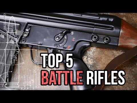 Top 5 Battle Rifles