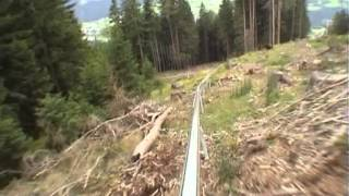 Alpine Coaster  test run with no brakes!! thumbnail