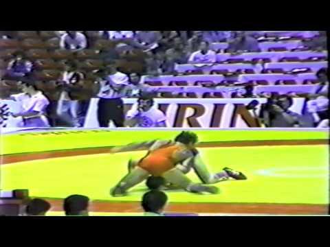 1990 Senior World Championships: 62 kg Karsten Polky (GDR) vs. Great Britain