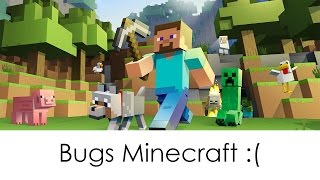 Minecraft bug, à l'aide ! :(