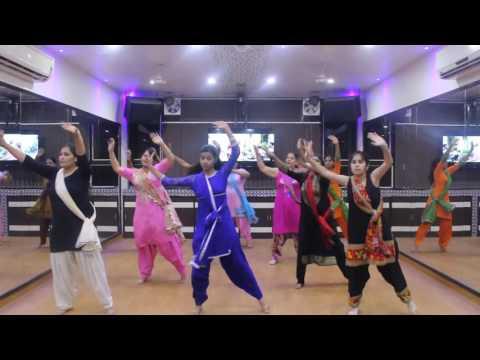 """Ammy Virk"" Lagdi Na Akh Nikka Zaildar | Bhangra Steps on Punjabi Song"