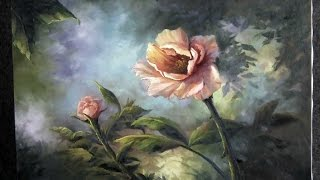 Paint with Kevin Hill - Colorful Pink Rose