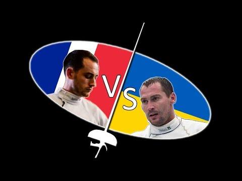 Match d'escrime de coupe du monde commenté - Épée #1 (Fava vs Nikishin)
