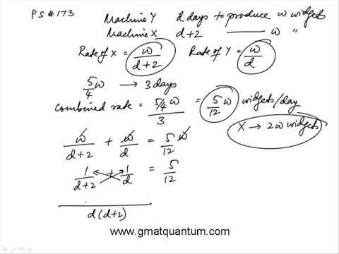 Q174 Problem Solving 2018 GMAT Quantitative Review