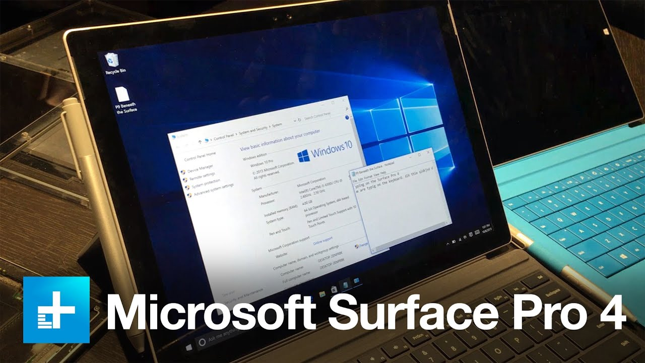 Microsoft Surface Pro 4 - Hands On