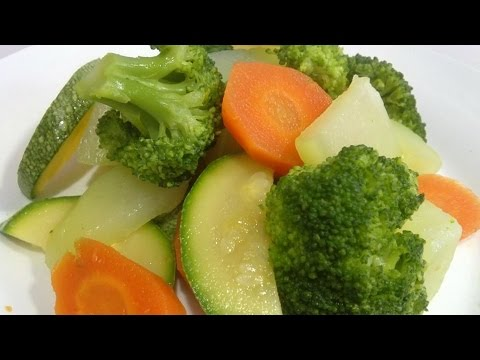 Vegetables In The Butter, Recipe #8, Vegetables