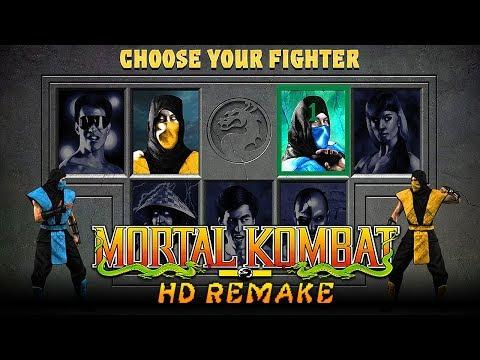 "MORTAL KOMBAT 1 RECREATED! Mortal Kombat ""HD REMAKE"" Gameplay! (Road to Mortal Kombat 11)"
