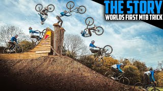WORLD'S FIRST MTB BACKFLIP TO FRONTFLIP CAVEMAN - THE STORY
