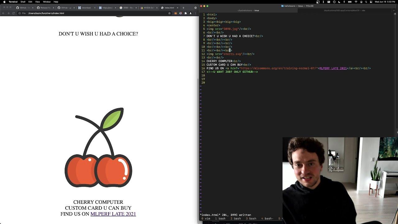 Download George Hotz | Programming | cherry computer: vectors and tinygrad | Science & Technology