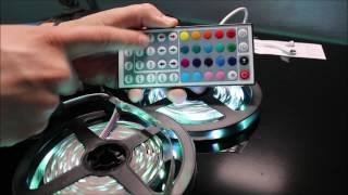 ledniceker 5050 led strip light review