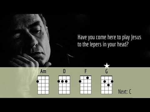 ONE - JOHNNY CASH - UKULELE PLAY ALONG