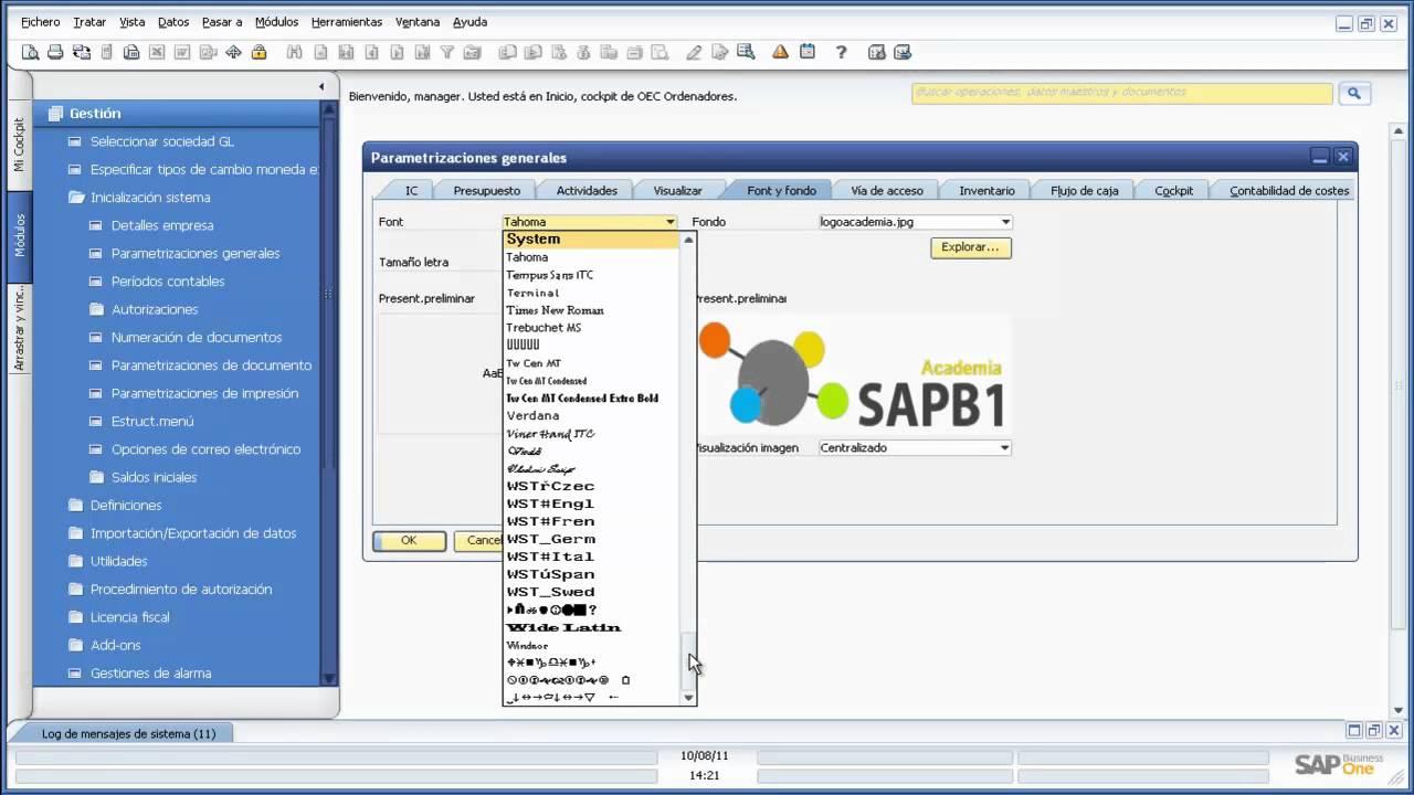 fundamentos sap business one - ejercicio 04