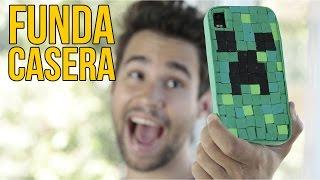 Cómo hacer una FUNDA casera para el móvil de MINECRAFT thumbnail