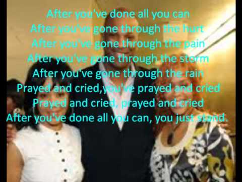Stand By Donnie McClurkin.wmv