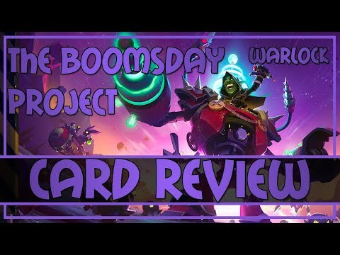 Kolento's The Boomsday Project Warlock cards review   Hearthstone