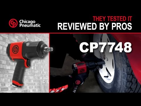 CP7748TL Torque Limited Impact Wrench - Reviewed by Pros