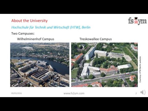 MS in Germany - Course Insight: M.Eng Automotive Engineering (in German)