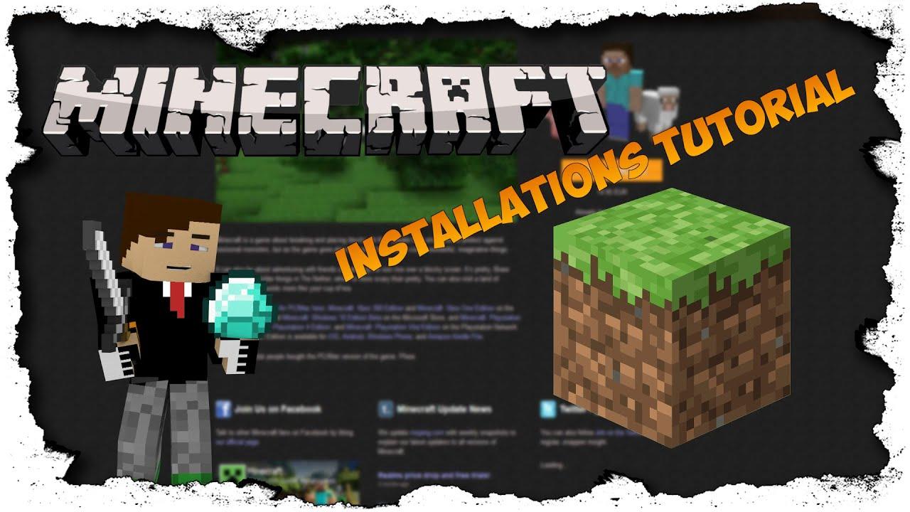 DEUTSCH Wie Lädt Man Sich Minecraft Runter BlenseHD Tutorial YouTube - Wie ladt man sich skins fur minecraft runter