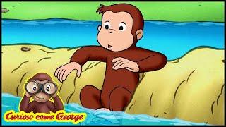 Curioso come George 🐵 Salvate i Pesci 🐵 Cartoni Animati per Bambini 🐵  Episodio Completo