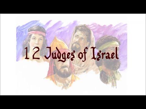 Bible Trivia: 12 Judges Of Israel