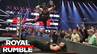 Roman Reigns vs. Kevin Owens - WWE Universal Title No Disqualification Match: Royal Rumble 2017