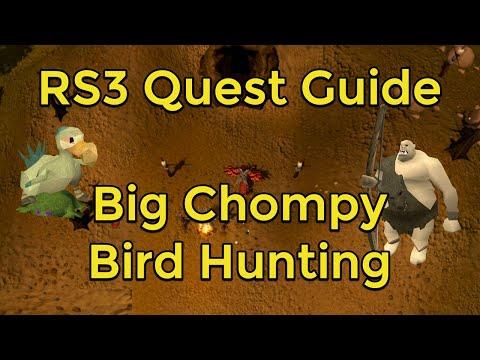 RuneScape 3 - Big Chompy Bird Hunting Quest Guide