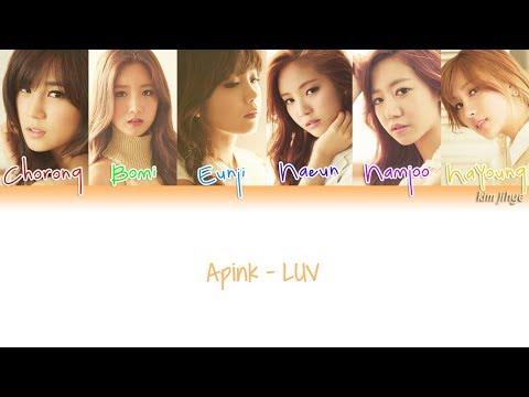 Apink (에이핑크) – LUV Lyrics (Han|Rom|Eng|Color Coded) #TBS