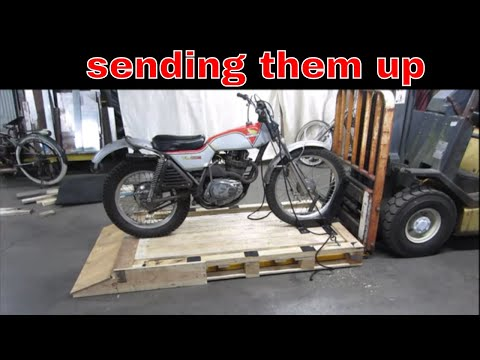 Lets Build a Forklift Platform For Bikes From Pallets