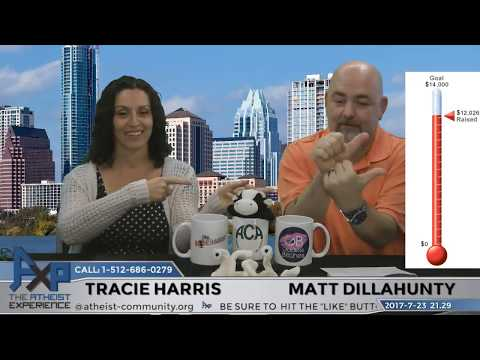 Atheist Experience 21.29 with Matt Dillahunty and Tracie Harris