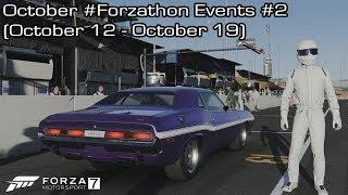 Forza Motorsport 7 - October #Forzathon Events #2 (October 12 - October 19)