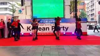Mamma Mia(맘마미아) - KARA(카라) Dance Cover by K-MUSE @Korean Party in Oita