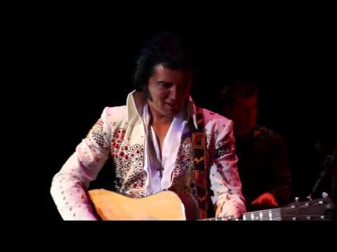 Ben Portsmouth - Burning Love - Show The King is Back - Elvis Tribute