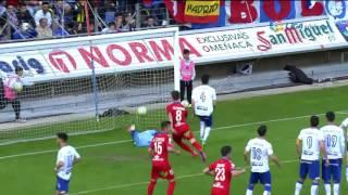 Resumen de CD Numancia (2-2) Real Zaragoza