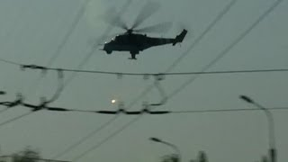 Ukraine: Donetsk Airport Like A WAR Zone | Helicopters Strike Rebel-Held Airport!!!