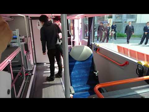 京成バス、新型二階建てバス、ダブルデッカー車両、お披露目会、車両見学