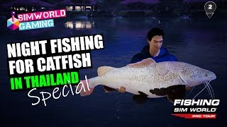 Fishing Sim World Pro Tour - Catfish Special in Thailand!! // Using Dead-Baits // PC Gameplay