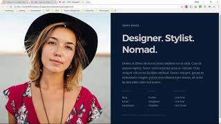 How to implement an HTML template in Concrete5