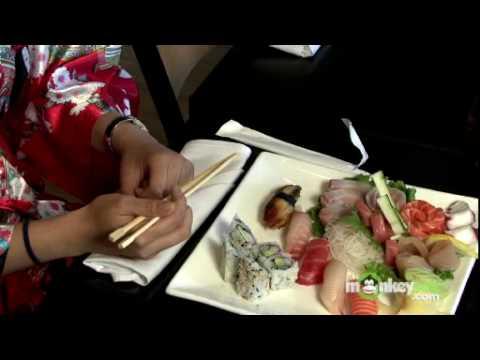 How to Eat Sushi - Using Chopsticks